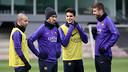 The squad began preparations for Saturday's game against Elche/ PHOTO: MIGUEL RUIZ - FCB