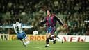 FCB 1-0 Espanyol (1995/96). FOTO: ARXIU FCB.