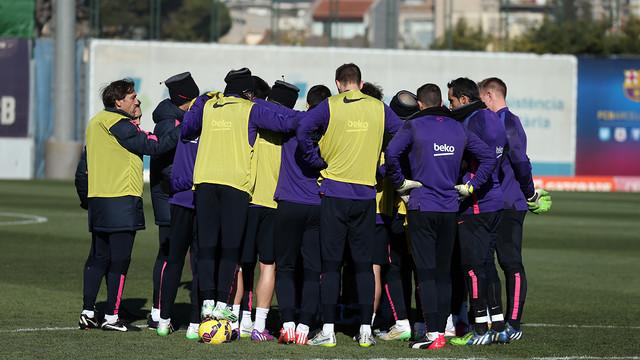 Barça facing a crucial set of games this week. / PHOTO: MIGUEL RUIZ - FCB