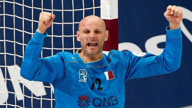 Saric ha llevado a Qatar a cuartos de final / FOTO:Qatar Handball 2015
