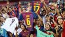 Les fans d'Amérique du Nord / PHOTO: ARXIU FCB