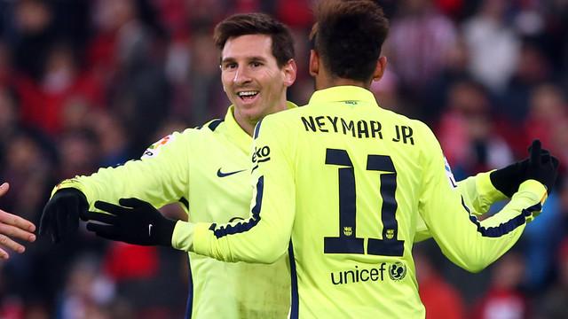 Messi dan Neymar akan saling berpelukan