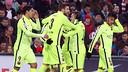 Messi, Neymar, Suárez and Pedro all scored at San Mamés / MIGUEL RUIZ-FCB