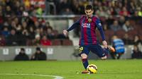 Leo Messi encadena nou partits consecutius marcant al Camp Nou