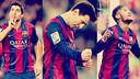 The Barça strike trio all found the net against Levante / FCB