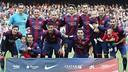 L'alineació del Barça / MIGUEL RUIZ-FCB
