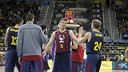 Barça reached the final by beating Unicaja. FOTO:ACB