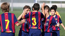 Two U10 players are among the Top 5 goals of the week / FCB Archive