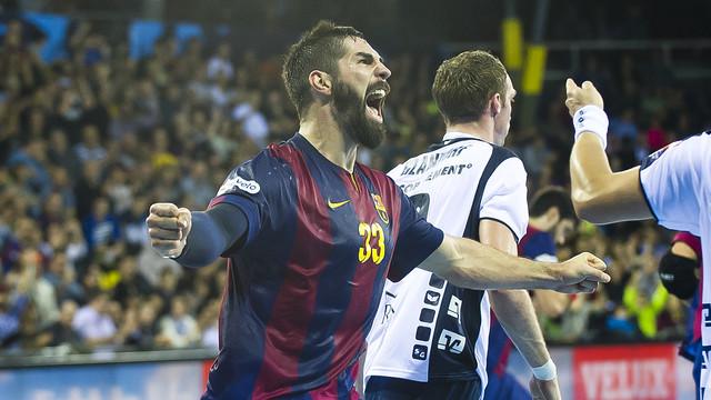 Nikola Karabatic, meilleur joueur du monde en handball en 2014 2014 / FOTO: ARXIU-FCB