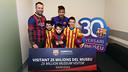 Les heureux élus, avec Neymar Jr / MIGUEL RUIZ - FCB