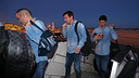 The players flew south to Granada on Friday evening / MIGUEL RUIZ - FCB