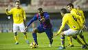 Adama vuelve a la convocatoria después de cumplir un partido de sanción / VICTOR SALGADO-FCB