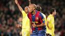 Gol de Thierry Henry contra el Villarreal en la Copa 2007/08 / MIGUEL RUIZ-FCB
