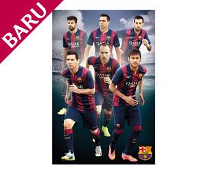 Poster Pemain Barcelona FC 2014/15 - 61 X 92cm