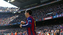 Luis Suárez scored two goals in Barça's 6–1 win over Rayo on Sunday. / MIGUEL RUIZ-FCB