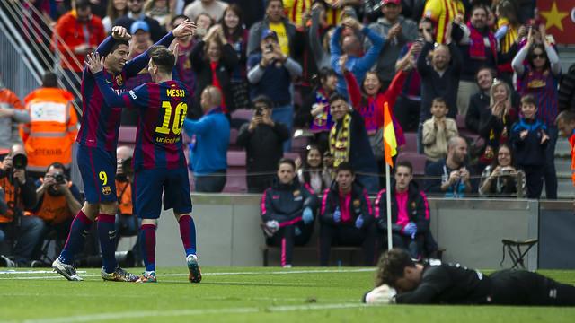 FC Barcelona - Rayo Vallecano, 08/03/2015 | FC Barcelona