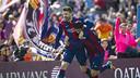 Gerard Piqué has made it to 25 goals for Barça / VÍCTOR SALGADO - FCB