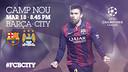 FC Barcelona v Manchester City
