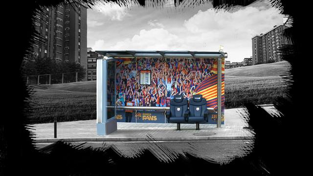Barça Fans surprising new ad campaign