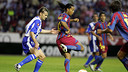 Ronaldinho face à Alaves / ARXIU FCB