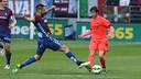 Sergi Roberto, en action à Ipurua / MIGUEL RUIZ - FCB