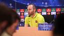 Andrés Iniesta, en conférence de presse / MIGUEL RUIZ - FCB