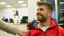 Gerard Piqué was speaking ahead of Sunday's game with Real Madrid (9.00pm CET) / MIGUEL RUIZ-FCB