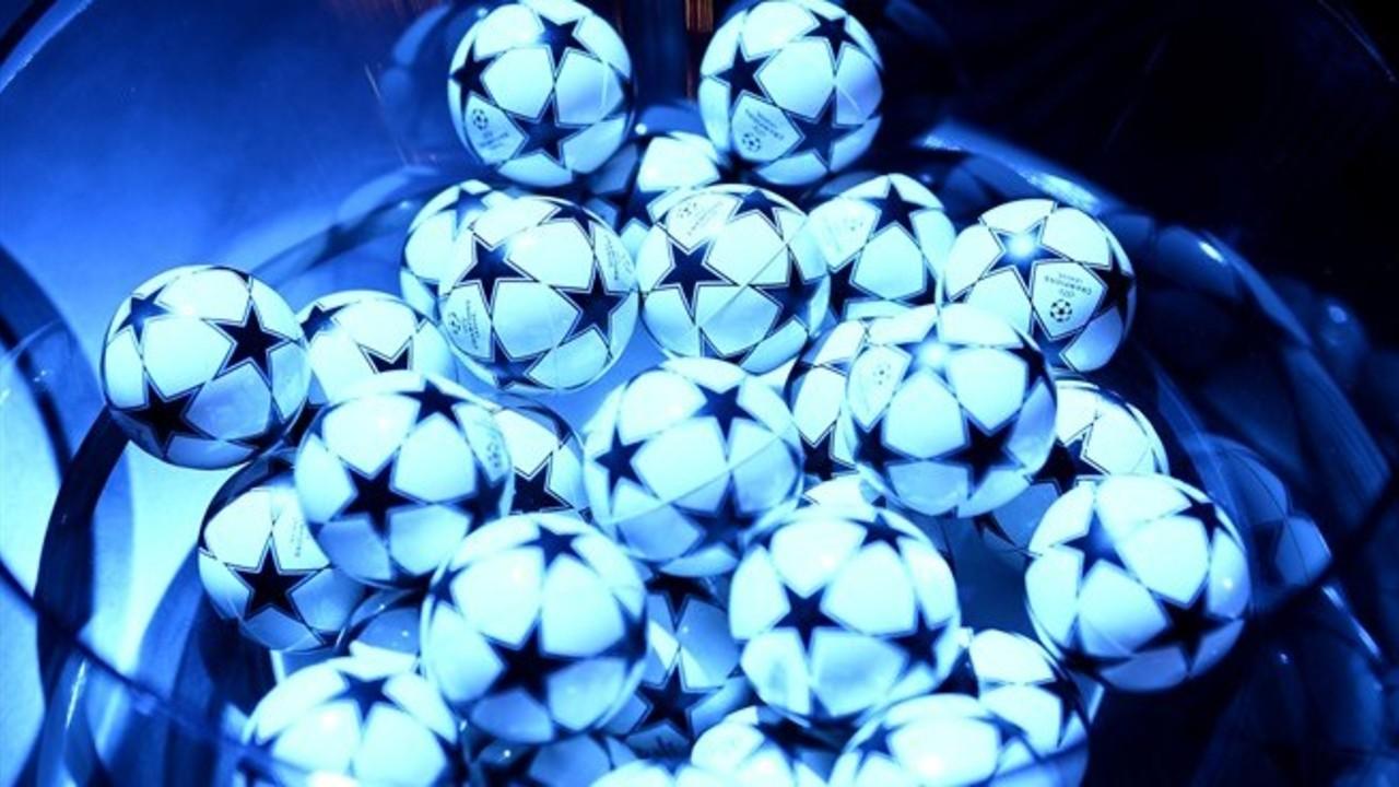 El bombo d'un sorteig de la Champions League / UEFA.COM