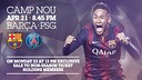 Tickets for FCB-PSG