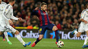 Jordi Alba was involved in a fine defensive display against Real Madrid / VICTOR SALGADO - FCB