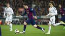 Messi, lors du Clasico / VÍCTOR SALGADO-FCB