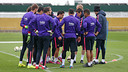 Les 10 joueurs, ce matin / MIGUEL RUIZ - FCB
