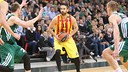 Navarro in action during the game / EUROLEAGUE