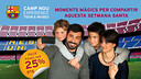 Come to the Camp Nou Experience this Easter
