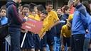 FCBEscola China at the presentation of the tournament  - RAFAEL VILLALGORDA