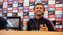 Luis Enrique in the press conference ahead of Almería game / MIGUEL RUIZ-FCB