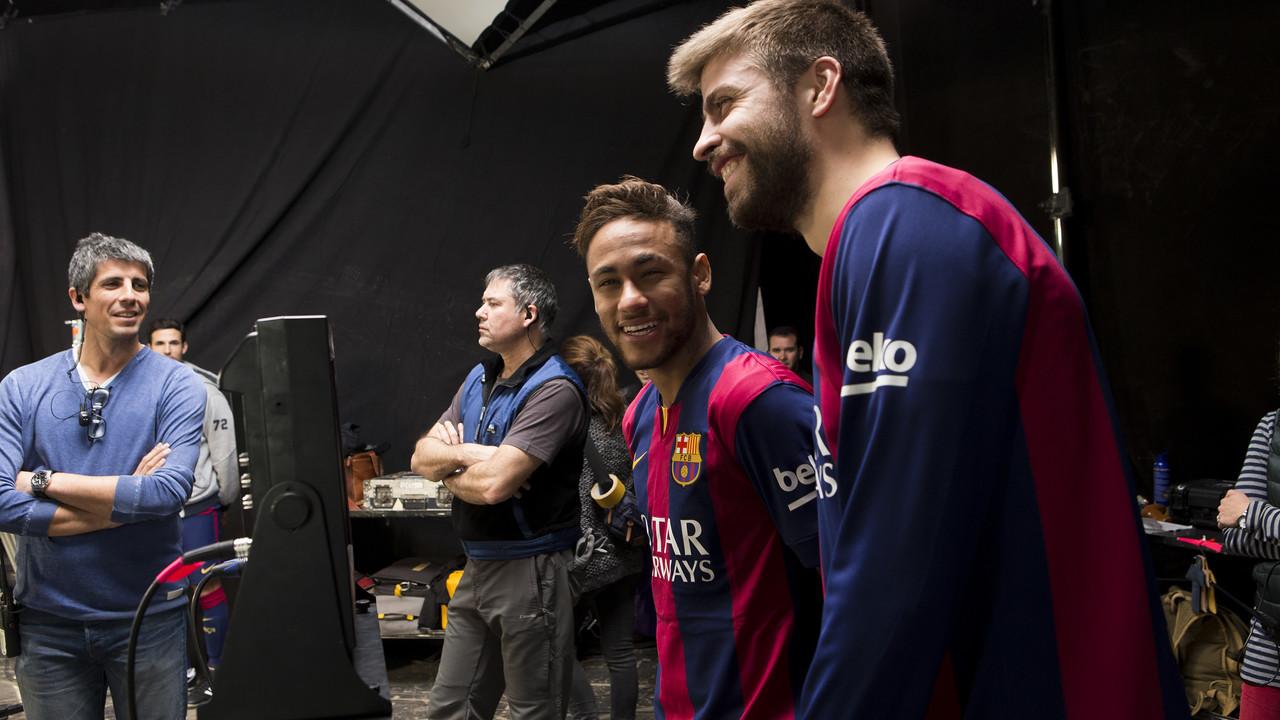 Así se grabó el anuncio de Beko con Messi, Neymar Jr, Piqué, Iniesta y Suárez