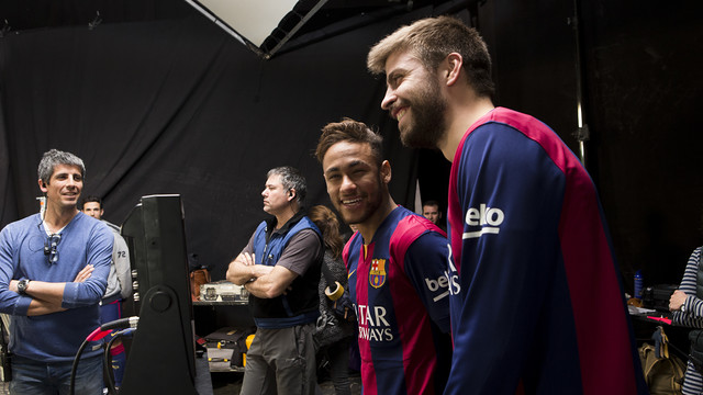 Neymar and Gerard Piqué aew two of the stars that appear in the advert / DANI AZNAR
