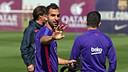 Montoya stunned his colleagues in training on Thursday
