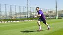 Thomas Vermaelen exercised on Tuesday / VÍCTOR SALGADO-FCB