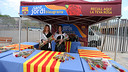 The St Jordi celebrations have become an annual tradition at the Camp Nou / MIGUEL RUIZ - FCB