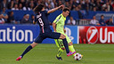 Leo Messi and Cavani faced off at the Parc des Princes in the group stage encounter / MIGUEL RUIZ - FCB