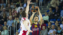 Nachbar played a decisive role with his 3-pointers / VÍCTOR SALGADO-FCB