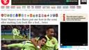 La premsa internacional elogia el joc del Barça a París