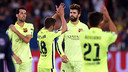 There was plenty to celebrate on Wednesday evening in Paris/ MIGUEL RUIZ - FCB