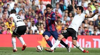 Leo Messi arriba als 400 gols oficials