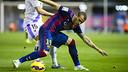 Sandro fue el autor del gol del empate en el partido de la primera vuelta en el Miniestadi / FCB