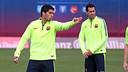 Luis Suárez, pendant l'entrainement / Miguel Ruiz FCB