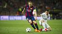 Andrés Iniesta put in an exquisite 45 minutes / VÍCTOR SALGADO-FCB