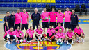 The futsal team is seeking a third continental crown / GERMAN PARGA - FCB